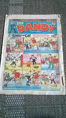 The Dandy 1953 oct 17th  issue Comic