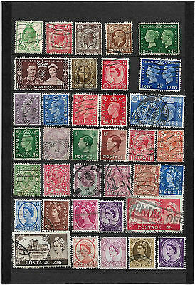 #British Queen Victoria Onwards Old Stamps Good Mix of Old Kings Used Collection