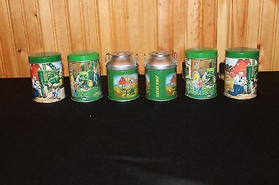 3 sets of John Deere Tractor Metal Salt & Pepper Shakers - NWT - FREE SHIPPING
