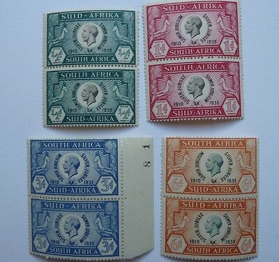 South Africa 1935 Silver jubilee Set