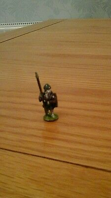 Hinchcliffe miniatures FA3 Dwarf with Spear and shield Fantasy pre slotta