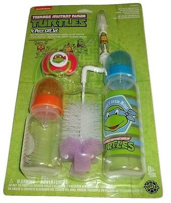 Teenage Mutant Ninja Turtles Baby Ninja Gift Set - Bottles, Bottle Brush, Pacifi