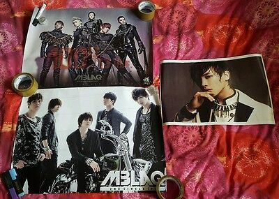 MBLAQ 2 Official Posters Set + extra Lee Joon poster kpop (3 poster set)
