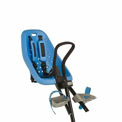 QUALITY BIKE CHILD SEAT FRONT MOUNT YEPP MINI BLUE MAX WEIGHT 15kg - A'head ONLY