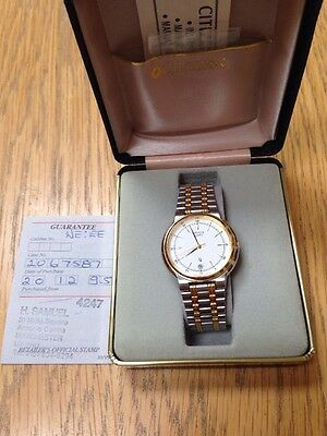 Citizen Quartz Watch - Men's Retro - In Original Box - In Excellent Condition