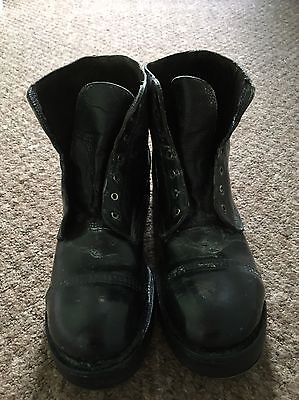 British Army Ammo Boots 11L Parade Drill