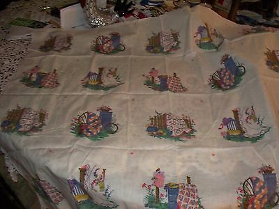 OOP! Beautiful Quilt Designs Fabric Squares Panel with 20 sqs/4 Different Prints
