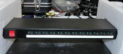 Mosses And Mitchell Mains Distribution Unit. 1U. 12 X Outputs.