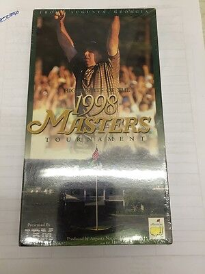 1998 Highlights Of The Masters Tournament NEW SEALED