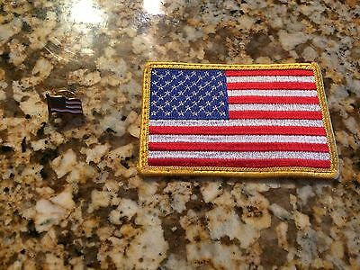 American Flag Patch & Pin