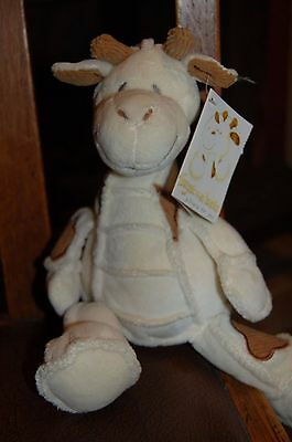 """Giraffe Soft Toy Forget me Knots - Never Played with - With Tags. Approx 10.5"""""""