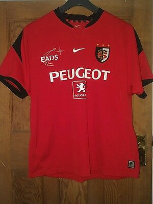 mens xl stade toulouse Nike,  rugby shirt.