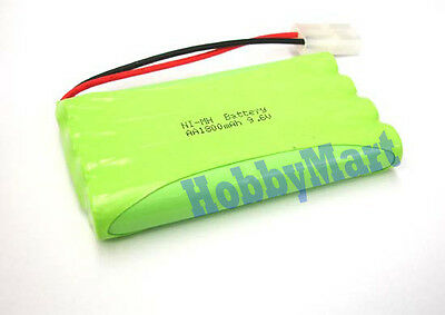 9.6V Ni-MH 1800mAh 8AA Rechargeable Battery x 1 for RC Boat, Car, Truck,Tank x 1