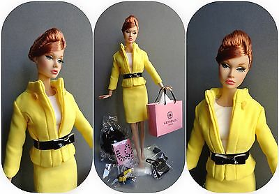 Poppy Parker Tres Chic Boutique dressed complete ( fashion royalty barbie )