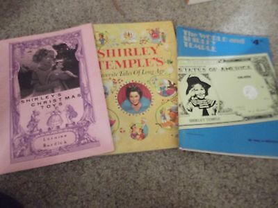 SHIRLEY'S Christmas Toys Shirley Temple picture book by Loraine Burdick + 2 more