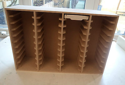 Hand Crafted Storage Unit For 40 Stampin Up Ink Pads