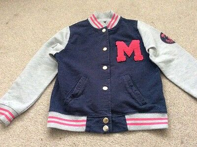 girls cotton jacket style top 7-8 years