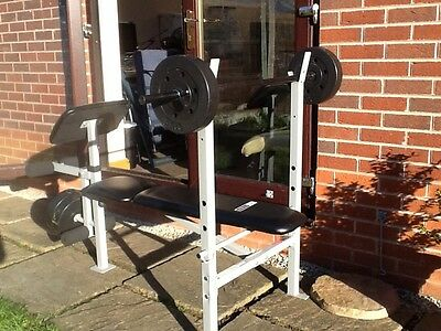 Pro Fitness Bench Press/Leg Curl, youth