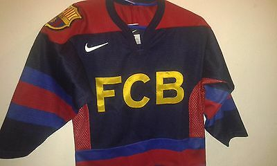 LIQUIDACION FC Barcelona ICE HOCKEY XXS  camiseta futbol football shirt