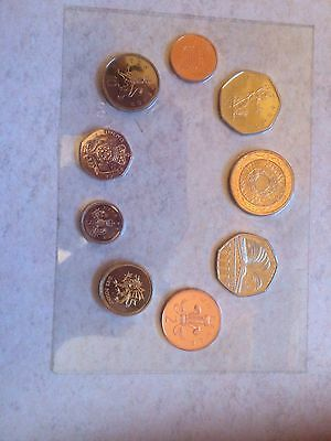 United Kingdom 2000 Millennium Sealed NEW Coin Collection***Collectors***