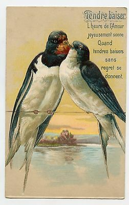 L'Amour des hirondelles . The Love of Swallows