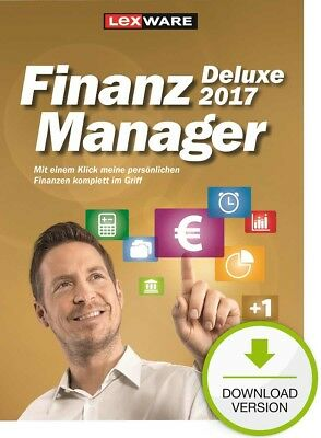 Lexware FinanzManager Deluxe 2017 / Windows-PC / ESD Download-Lizenz / KEY