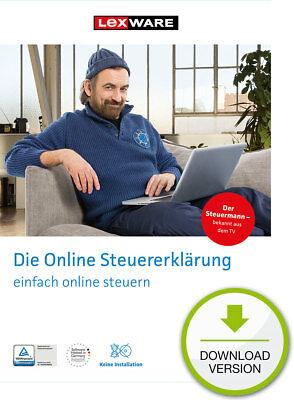 Lexware Smartsteuer 2017 (für Steuerjahr 2016) Download-Lizenz Windows/Mac / KEY