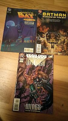 Batman:Shadow Of The Bat issues 45/50,Legends Of The Dark Knight 1995 Annual