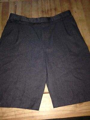 Boys Grey School Shorts Age 13