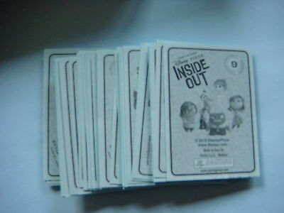 70  STICKERS  PANINI VICE VERSA  inside out sans doubles