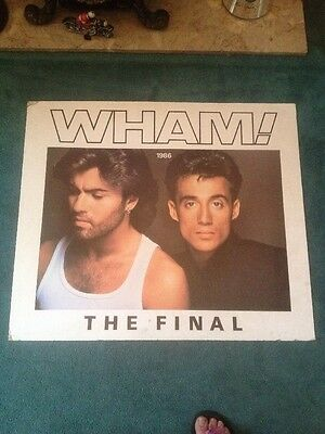 George Michael WHAM The Final Promo Display Board Poster
