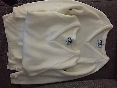 New Emsmorn Lawn Bowls Knitted Jumpers Size Small/34