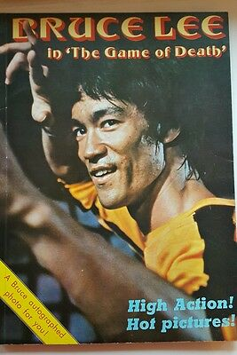 """Bruce lee in """" The Game of Death """" magazines"""