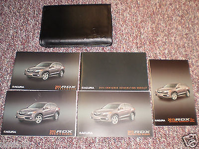 2013 Acura Rdx Suv Owners Manual Books Navigation Guide Case All Models