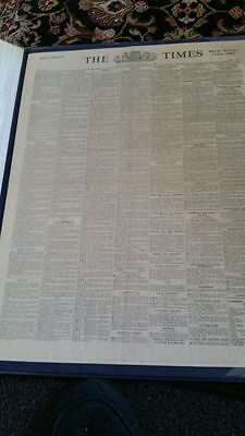 Royal Edition The Times Newspaper 4th September 1939
