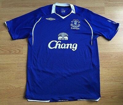 Everton 2008/09,Home,Umbro,Large Football Shirt...Good Condition...