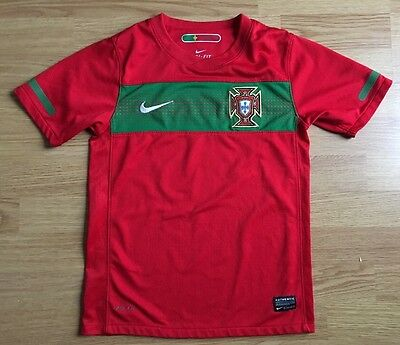 Portugal 2010/12.Home,Nike,Boys Football Shirt..Great Condition...