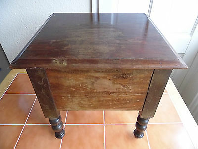 Antique toilet Table/phone table