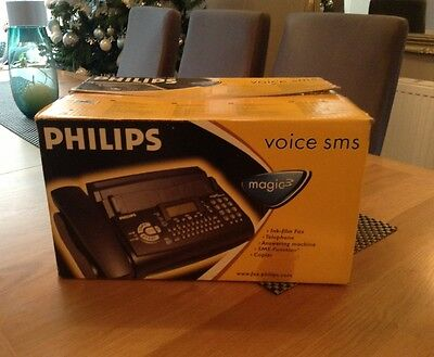 Philips Magic 3 Voice SMS Fax Machine New In Box Never Used