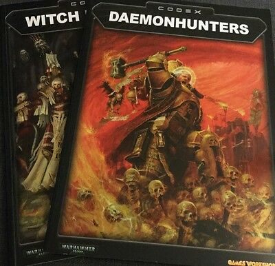Witch hunters and Daemonhunters codex. Warhammer 40,000. Games Workshop