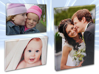 """Your Personalised Photo on Canvas Print 12"""" x 16"""" Framed A3 Ready to Hang"""
