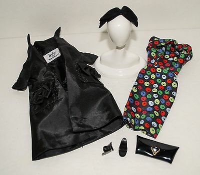 Vintage Reproduction Barbie Outfit Easter Parade #971 From  1959 Apple Print