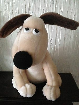 Gromit The Dog Wallace & Gromit Plush Soft Toy Dog VGC