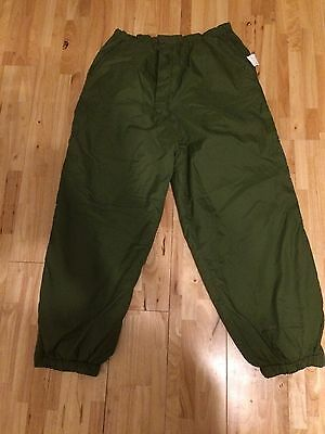 British Army Reversible Thermal Trousers Large/military/hunting/hiking