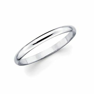 316L Stainless steel  plain wedding band, 2mm wide, combined shipping