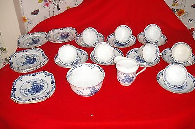 cups and saucers tea set english bell china for 8