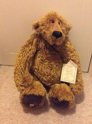 Deans Collectors Bear EDWARD  Ltd Ed Bear Jointed Teddy