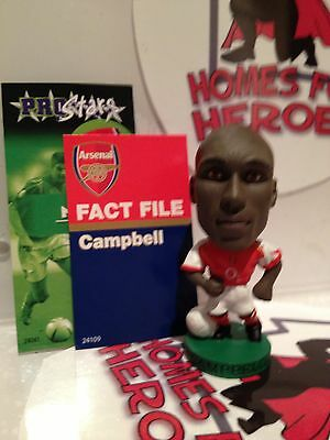 Corinthian Prostars Arsenal Sol Campbell Pro17 Loose With Card