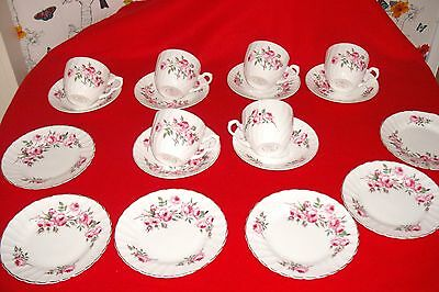cups and saucers tea set for 6