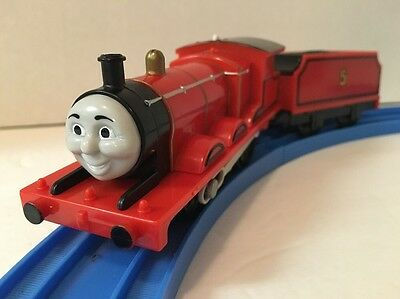 Thomas Train Trackmaster JAMES Engine + COAL TENDER - Motorized Lot